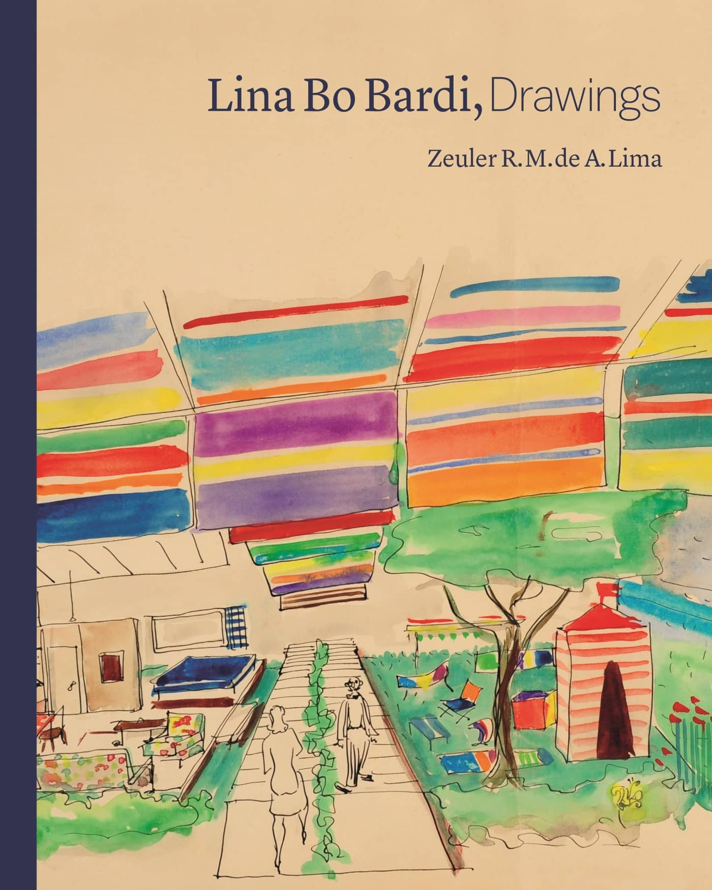 'Lina Bo Bardi, Drawings' book cover