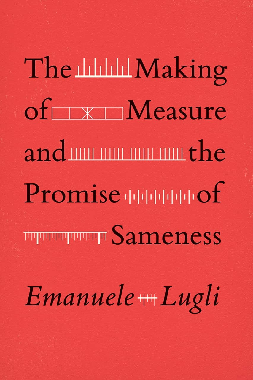 'The Making of Measure and the Promise of Sameness' book cover